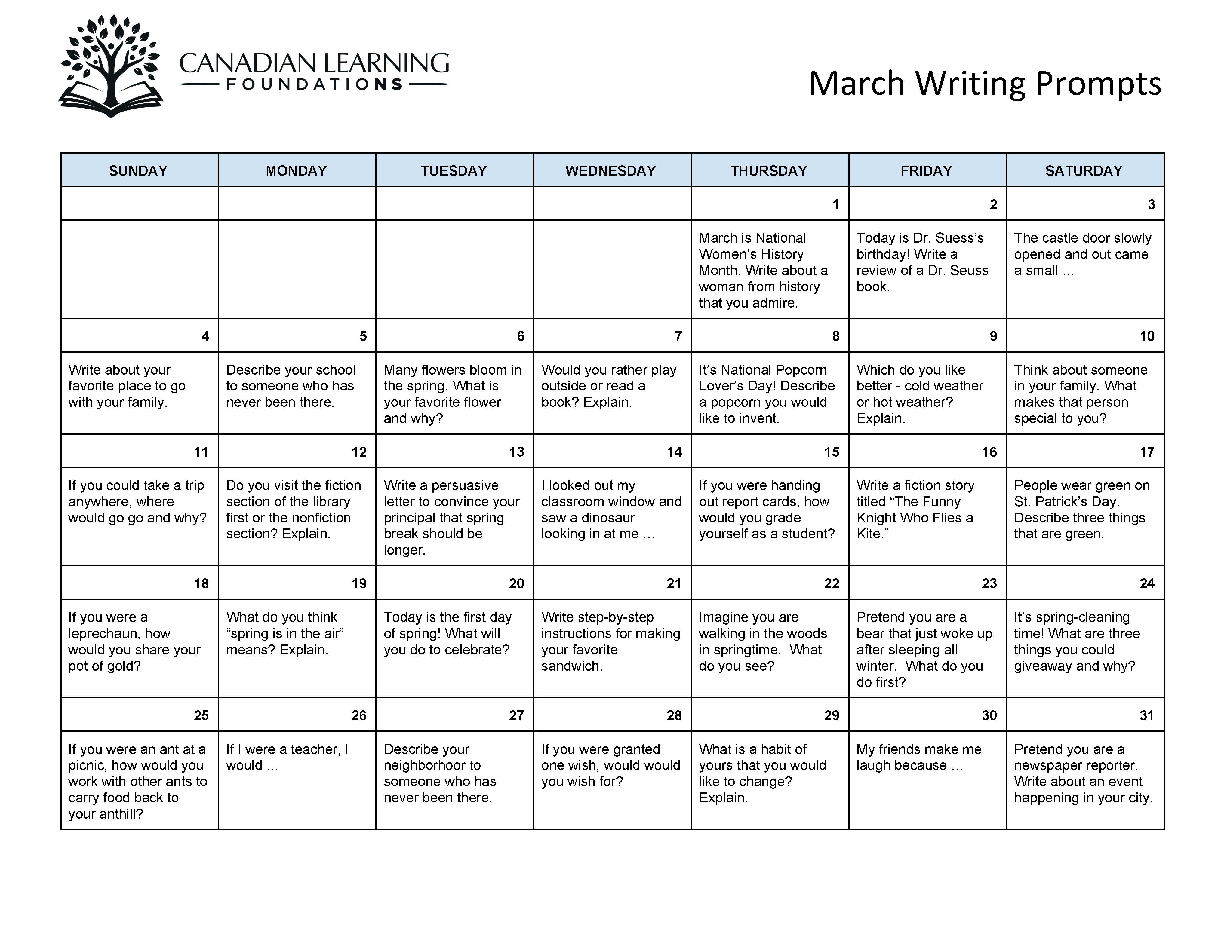 March Writing Prompts.jpg